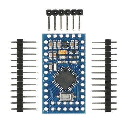 5шт Pro Mini ATmega328P 5V 16MHz Модуль микроконтроллера для Arduino с разъемами