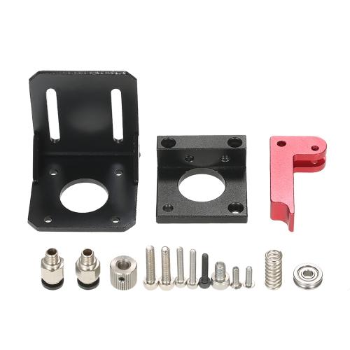 3Dプリンターオールメタルリモート押出機アクセサリーMK8押出機用DIYキット1.75mm / 3mmフィラメント左手
