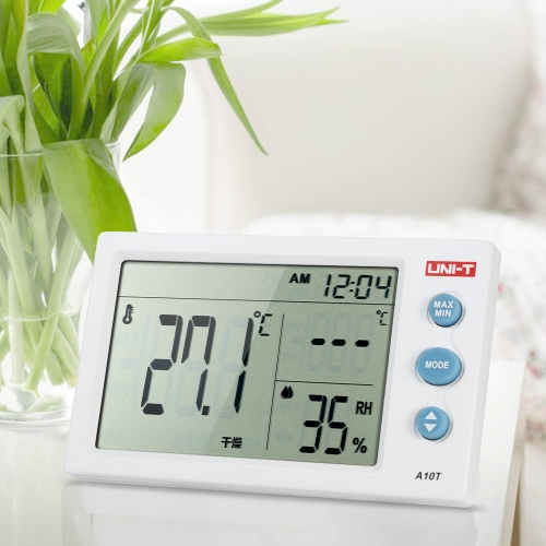 UNI-T A10T เธขเธC/เธขเธF Portable Mini Temperature and Humidity Meter