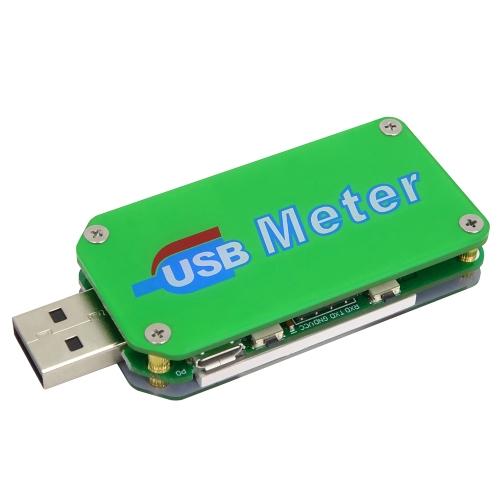 RD UM24C USB 2.0 Display LCD a colori Tester Misuratore di corrente Voltmetro Amperometro Carica batteria Cavo Impedenza Misurazione Comunicazione Versione