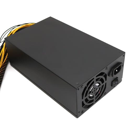 2200 W 180-260 V Zasilanie przełączające 90% Wysoka wydajność dla Ethereum S9 S7 L3 Rig Mining