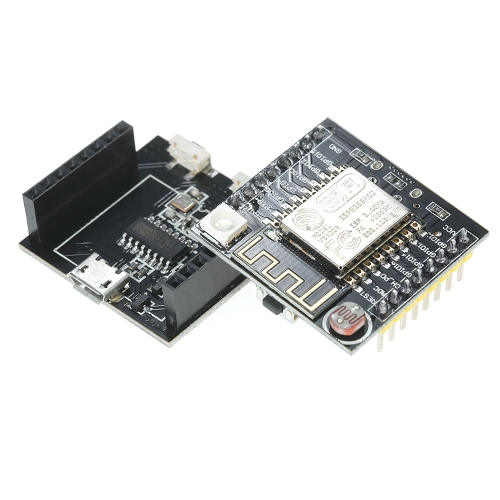 ESP8266 Module de développement de carte Wi-Fi série ESP-12F Compatible pour Arduino MINI NodeMCU