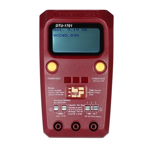 ハンドヘルドLCDデジタルトランジスタテスタSMD抵抗ダイオードインダクタンス容量ESRメータ
