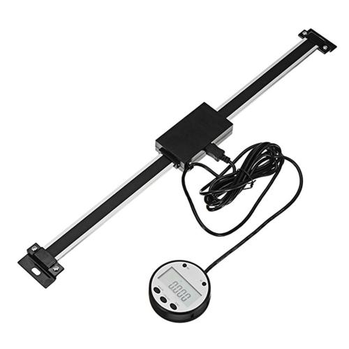 デジタルリニアリードスケールスケール定規オプション0.01mm磁気リモート外部表示ルーラ工作機械ミル旋盤用計測ツール5403-300(0-300mm)