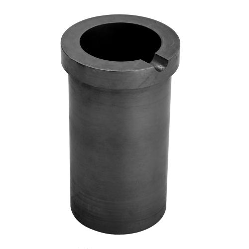 Crogiolo di fusione di grafite ad alta purezza per metalli ad alta temperatura e metalli d'argento