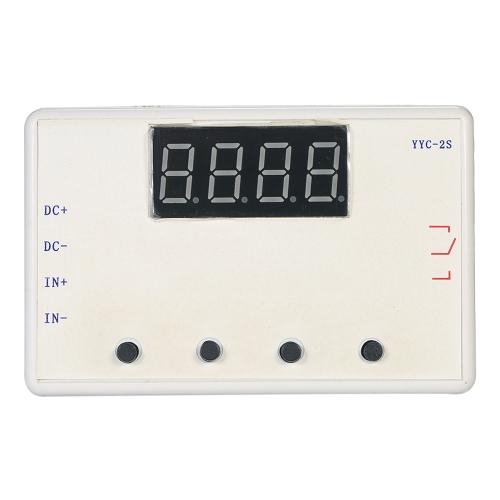 Placa ajustável do interruptor de controle do temporizador do atraso do módulo do relé do diodo emissor de luz de 5A com caso