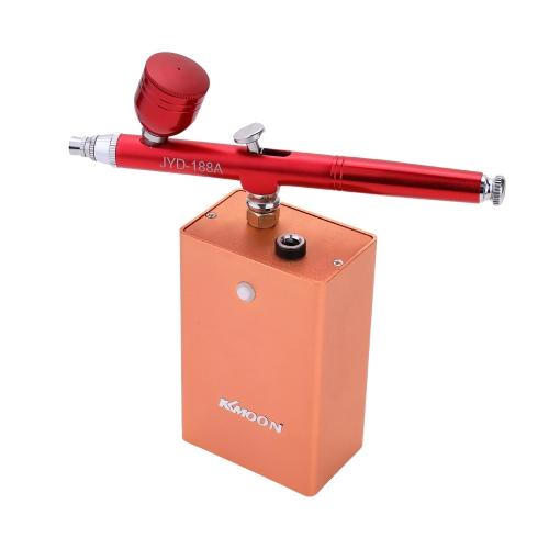 Belle Airbrush Set Petit Kit de Pompe de Pulvérisation Set Compresseur D'air pour Art Peinture Tatouage Craft Gâteau Spray Modèle