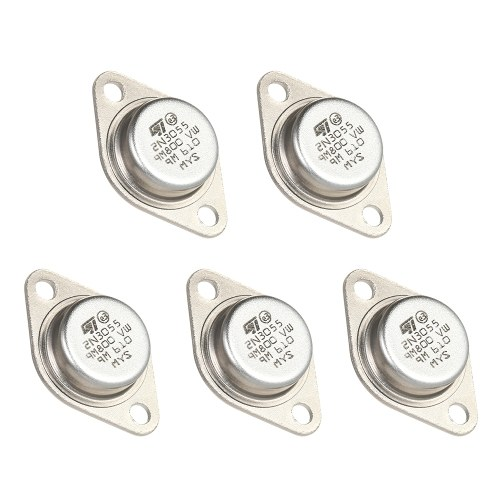5 stücke Hohe Qualität 2N3055 Leistungstransistoren NPN TO-3 Metallgehäuse 15A / 60 V