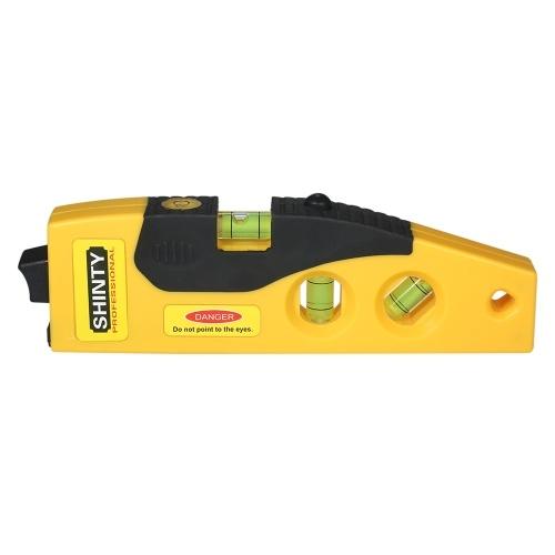 Professional Laser Level Line Marker with Adjustable Tripod Laser Dot Cross Line Horizontal Vertical 45-degree Measurement
