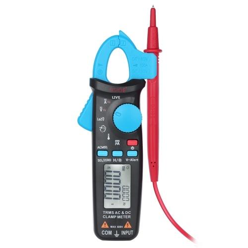 Multimetro digitale con pinza amperometrica LCD True RMS professionale BSIDE