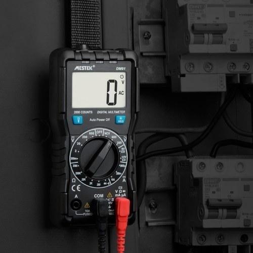 MESTEK DM91 Auto-range LCD Digital Multimeter