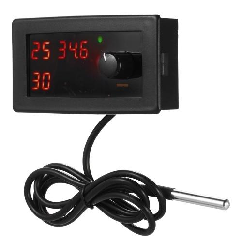 AC110-250V Цифровой контроллер температуры и температуры термостата фото