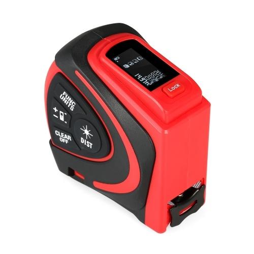Digital Laser Rangefinder Handheld Infrared Range Finder 2 in 1