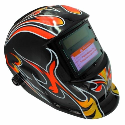 太陽動力を与えられた溶接のヘルメットのMig Tigアークの溶接工のマスクのために調節可能な自動暗くなるフード電気溶接のマスク