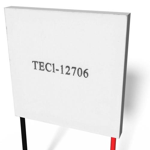 TEC1-12706 40 * 40mm 12 V 60 Watt Kühlkörper Thermoelektrischer Kühler Halbleiter Kühlung Kühlung Peltierplatte
