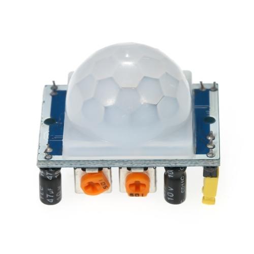 HC-SR501 PIR赤外線センサー調整IR焦電赤外線PIRモーションセンサー検出器モジュールボディモーションモジュールArduino用ラズベリーパイ