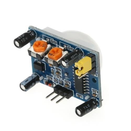 HC-SR501 Sensor infrarrojo PIR Ajuste infrarrojo