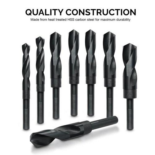 8pcs/set Professional HSS Twist Drill Set of 8pcs High Speed Steel Twist Drill Bits Tool Set with Wooden Storage Case