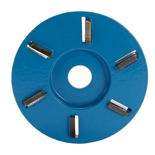 Tronchese a sei denti per la lavorazione del legno con intaglio per dischi da 16 mm
