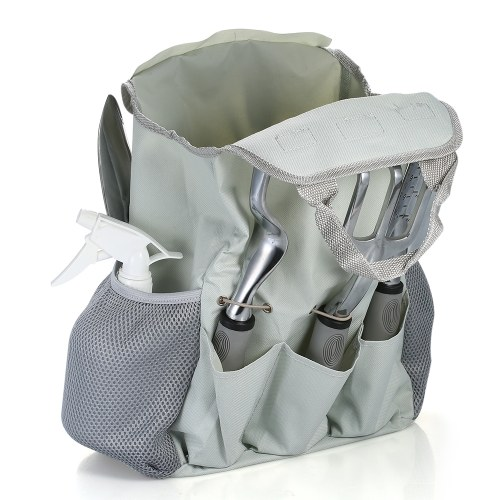 10pcs/set Aluminum Gardening Tools with Ergonomic Handles Gardening Kit Pruning Shears Trowel Hand Fork