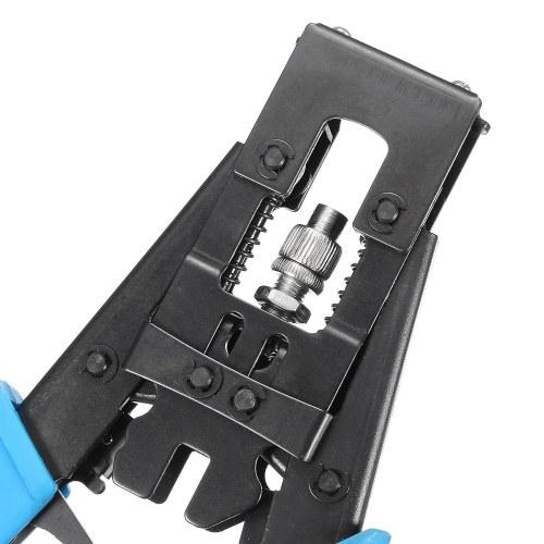 Profession Cable Crimper Tool Разъемы для коаксиального сжатия RG59 / RG58 / RG6 BNC / RCA / F