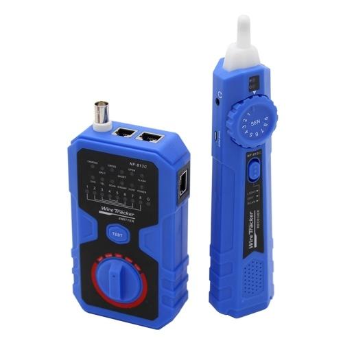 イーサネットLANケーブル固定電話電話線テストツール用NF-813Cネットワークケーブルテスター
