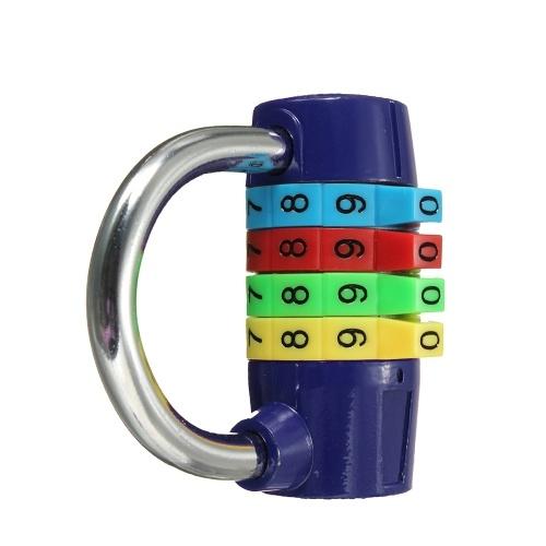 Короткий четырехзначный кодекс Кодовый пароль Замок безопасности Замок безопасности фото