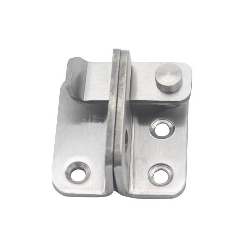 ステンレス鋼のゲートは南京錠の穴が付いている左右のドアの南京錠掛け金の安全ドアロックを掛けます