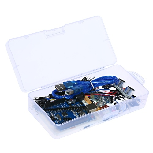 Basic Starter Kit for Arduino 15UNO R3 BT Android Project Learning Kit HC-05 Development Board Arduino IDE Develop Starting Kit Microcontroller with USB Cable