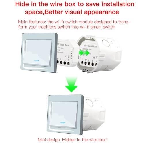 Wifi Intelligent Light Switch DIY Breaker Module APP Remote Control
