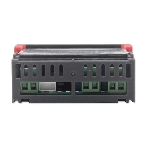 センサープローブリレー出力12V内蔵のデジタルディスプレイ温湿度コントローラレギュレータサーモスタット湿度計