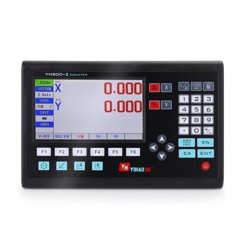7 Inch LCD Large Screen Grating CNC Digital Readout Display Lathe Control Panel Controller Board Engraving Milling Machine Control System
