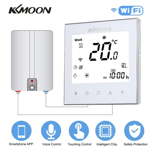 KKmoon Digital Water_Gas Boiler Heating Thermostat Temperature Controller with WiFi Conn____Tomtop____https://www.tomtop.com/p-e8489w-2.html____