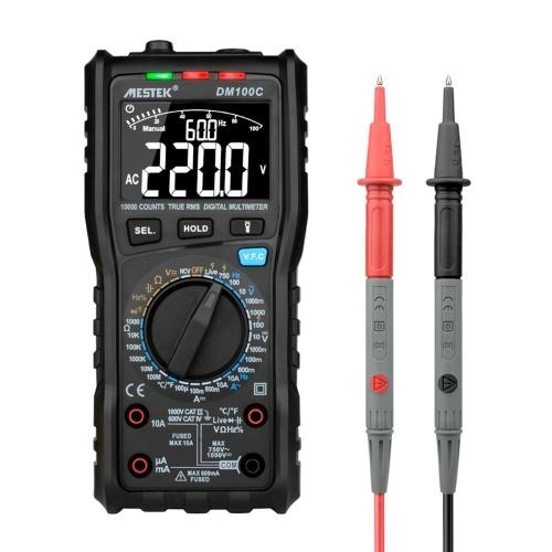 MESTEK 10000 Counts True RMS Multifunctional Digital Multimeter
