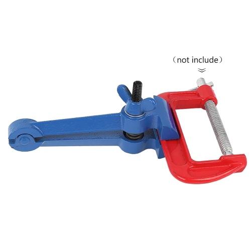 Mini-Handschraubstock Multi-Zangen 50mm Haushalt Handschraubstock Maschinist Pincer Steel Fixed Zangen Hand Maschinist Tools