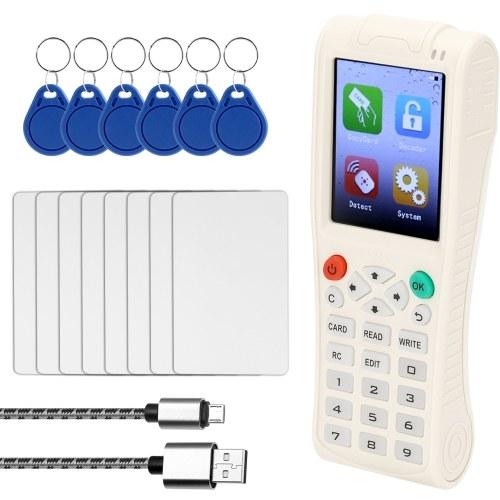 Macchina chiave palmare iCopy 5 con funzione di decodifica completa Macchina chiave card intelligente RFI-D Copiatrice NFC IC / ID Lettore duplicatore scrittore