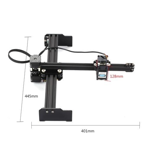 3.5W Laser Engraving Machine High Speed Mini Desktop Laser Engraver Printer