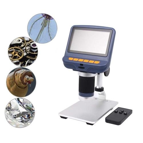 Desktop Mini Microscope 220X Magnification USB Digital Microscope