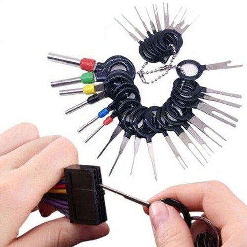 Automotive Plug Terminal Remove Tool Set Key Pin Car Electrical Wire Crimp Connector Extractor Kit Accessories