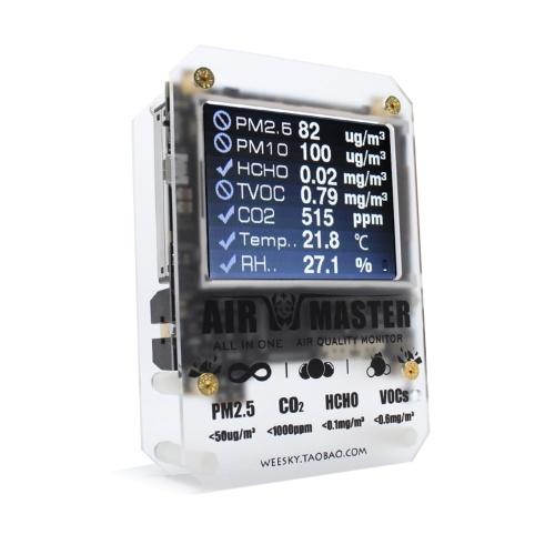 Tester della circostanza domestica della macchina di rilevazione della qualità dell'aria del rivelatore di AM7p HCHO