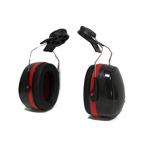 Hard Hat Mounting Ear Muffs Cap Mount Protective Earmuffs Noise Reduction Ear Covers Noise-cancelling Helmet Attachable Earmuffs Ear Defenders Anti-No