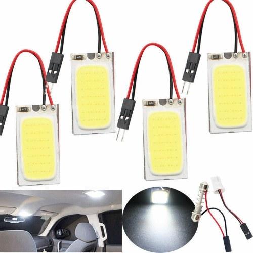 НОВЫЙ Белый 48 SMD COB LED T10 4 Вт 12 В Интерьер салона автомобиля Свет лампы купольная лампа