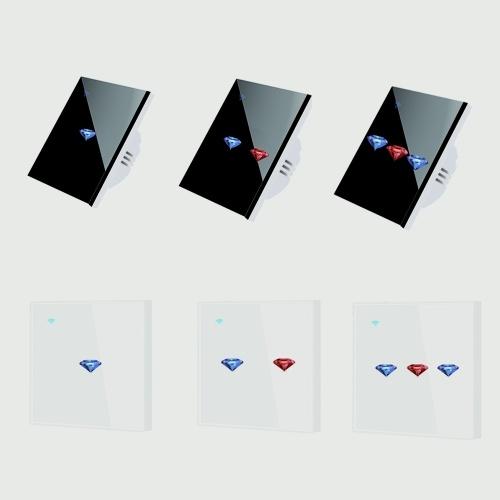 Tuya Smart Life WiFi Curtain Wall Touched Intelligent Switch Board