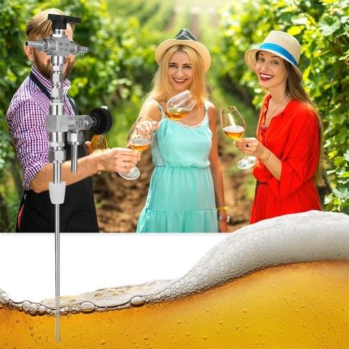 Household Homebrew 304 Stainless Steel Counter Pressure Beer Bottle Filler CO2 Beer Brewing Kit