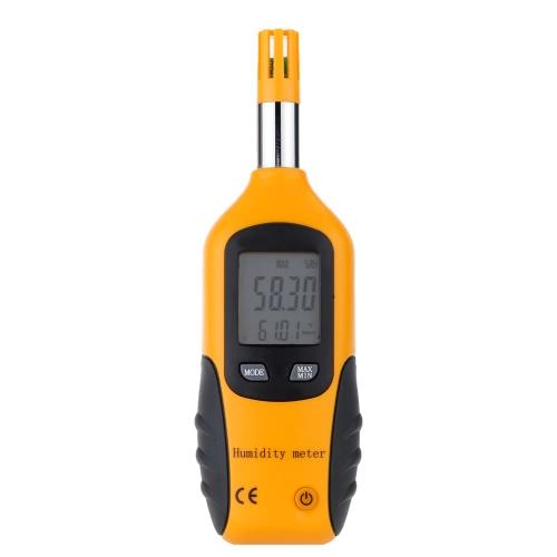 Haute précision main-tenir Digital thermomètre hygromètre affichage LCD température mètre humidité testeur humide ampoule/Dew Point température détecteur d'ingénieur maison laboratoire industriel