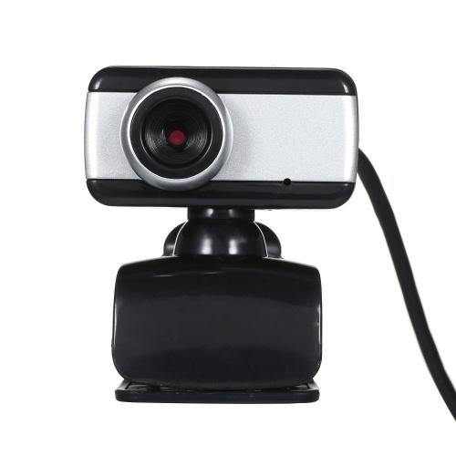Webkamera PC Laptop Computer Desktop Clip-On USB-Webcam mit eingebautem Mikrofon