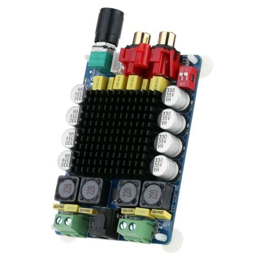 KKmoon TDA7498 Class D 2*100W Dual Channel Audio Stereo Digital Power  Amplifier Board DC 15-34V