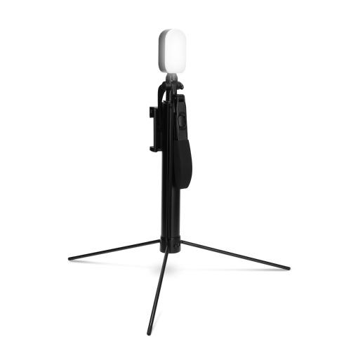 A21 Teléfono móvil Estabilizador de mano BT Teléfono Video Balance Mango Trípode telescópico Teléfono antivibración Selfie Stick