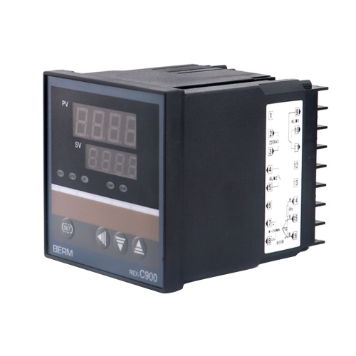 REX-C900FK02-8 * AN Intelligente Temperaturregler-Digitalanzeige 0-400 ℃ K Typ 4-20MA Ausgang