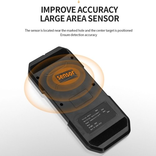 MAKA MKL-DO2 Portable Backlight Display Wall Detector Accurate Positioning Sensitive Detection Multifunctional Wall Scanner Wood Wire Metal Finder